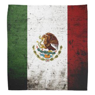 Schwarze Schmutz-Mexiko-Flagge Kopftücher