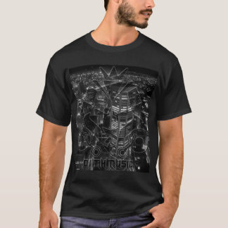 Schwarze Stadt T-Shirt