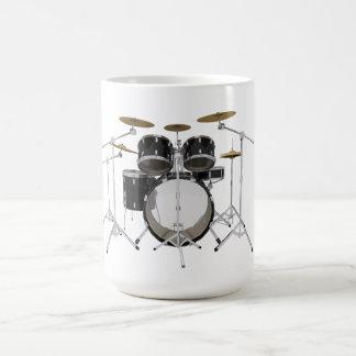 Schwarze Trommel-Ausrüstung: Tasse