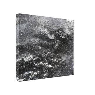 Schwarze u. weiße abstrakte Fotografie-Leinwand Leinwand Druck