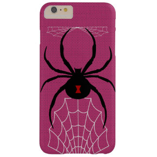 Schwarze Witwe SpiderWoman Fall Barely There iPhone 6 Plus Hülle