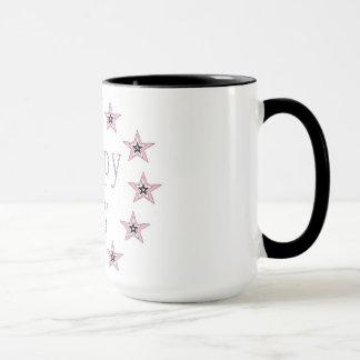 Schwärzen Sie 15-Unze-kombinierte Tassenkunst Tasse