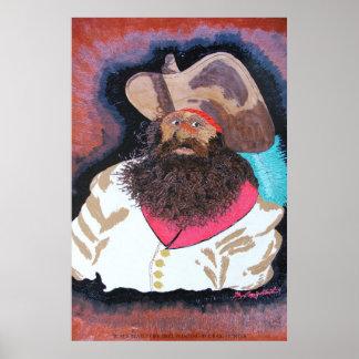 Schwarzer Bart Poster