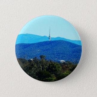 Schwarzer Berg - Canberra Runder Button 5,7 Cm