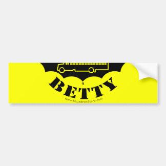 Schwarzer Betty-Aufkleber 2of2 Autoaufkleber