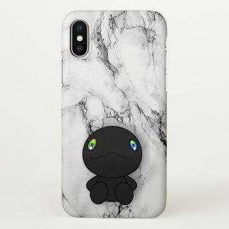 Schwarzer Dino iPhone X Hülle