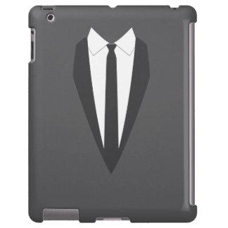 schwarzer formaler Mantel ipad 2/3/4 Kasten iPad Hülle