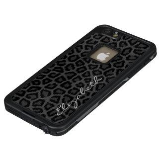 Schwarzer Panther mit Namen LifeProof FRÄ' iPhone 6/6s Plus Hülle