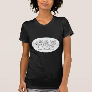 Schwarzer Pöbel-ProgrammierungsT - Shirts