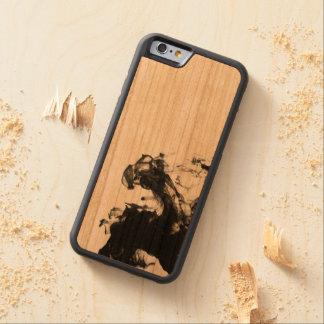 Schwarzer Rauch Bumper iPhone 6 Hülle Kirsche