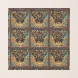 Schwarzer Schmetterlings-Schal Schal