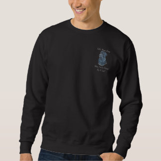 schwarzer sweatshirt