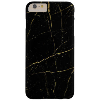 Schwarzer und grüner Marmor Barely There iPhone 6 Plus Hülle