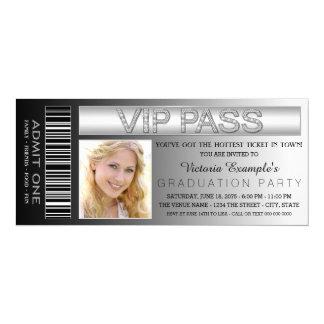 Schwarzes 10,2 X 23,5 Cm Einladungskarte