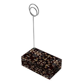 Schwarzes Elfenbein-Brown-Deko-Mosaik