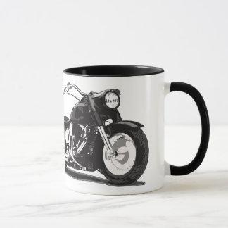 Schwarzes Harley Motorrad Tasse
