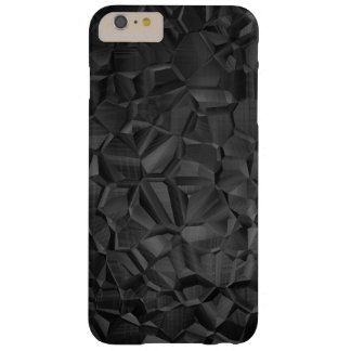 Schwarzes Polygon-moderner Telefon-Kasten Barely There iPhone 6 Plus Hülle