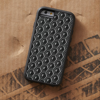 Schwarzes Polygon Tough Xtreme iPhone 6 Hülle