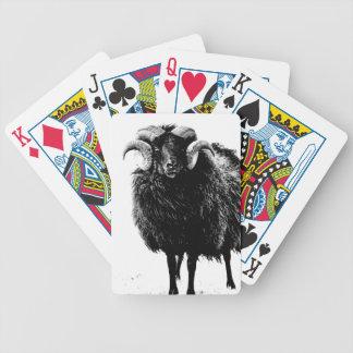 Schwarzes RAM Pokerkarten