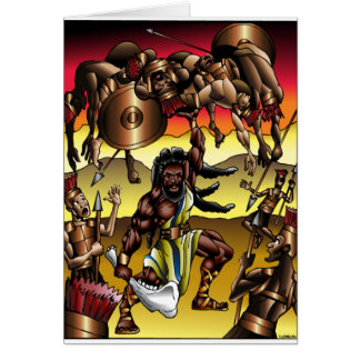 Schwarzes Samson Karte