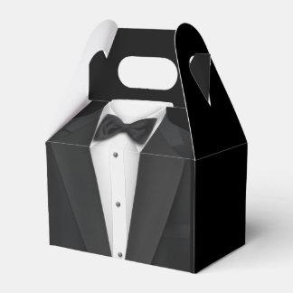 Schwarzes Smoking Geschenkkartons
