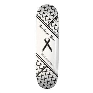 Schwarzes Standardband Individuelles Skateboard
