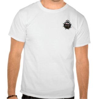 Schwarzes Sun-Taschen-Logo Hemd