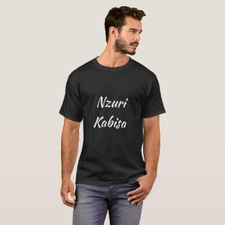 schwarzes T-Shirt Nzuri Kabisa