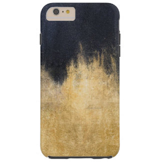 Schwarzes und GoldiPhone 7 Plusfall Tough iPhone 6 Plus Hülle