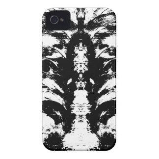 Schwarzweiss iPhone 4 Hülle