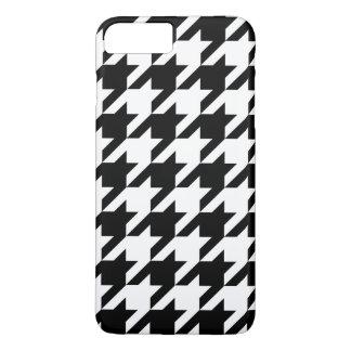 Schwarzweiss-Jagdhund-Zahn iPhone 7+ Fall iPhone 8 Plus/7 Plus Hülle
