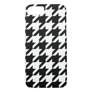 Schwarzweiss-Jagdhund-Zahn iPhone 7 Kasten iPhone 8/7 Hülle