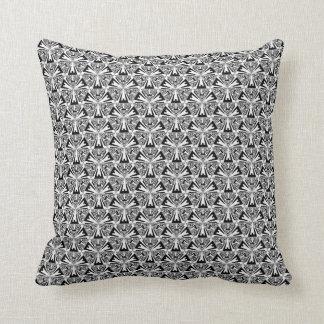 Schwarzweiss-Sierpinski Dreieck-Wurfs-Kissen Zierkissen