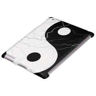 Schwarzweiss-Yin und Yang iPad Hülle