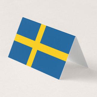 Schweden-Flagge Platzkarte