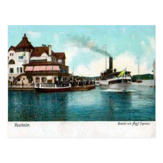 Schweden, Vaxholm, Dampfer, Dampfer 1905 Postkarten