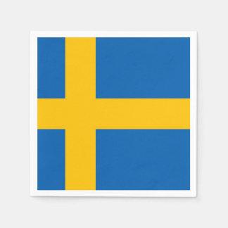 Schwedische Flagge Serviette