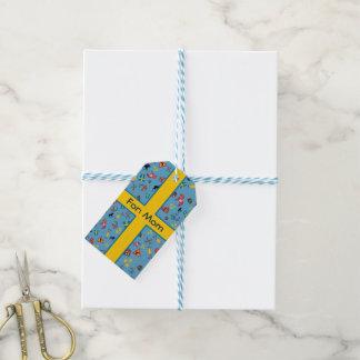 Schwedische Kultureinzelteile mit Flagge Geschenkanhänger