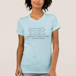 Schwedisches Sprichwort auf Shirt