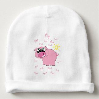Schwein Babymütze