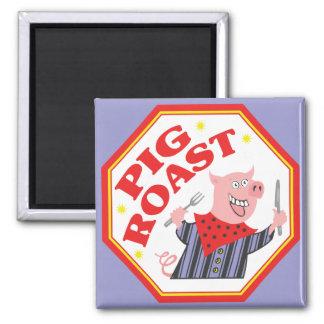 Schwein-Braten Quadratischer Magnet