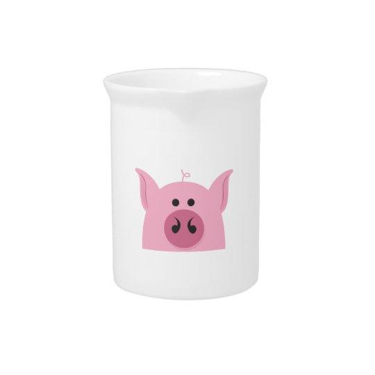 Schwein-Gesicht Getränke Krüge