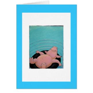 Schwein Karte