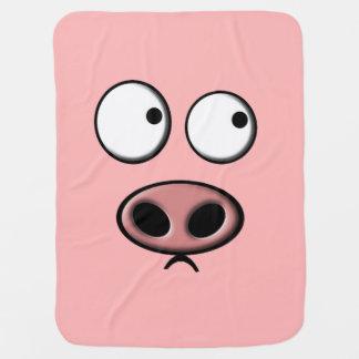 Schwein Kinderwagendecke