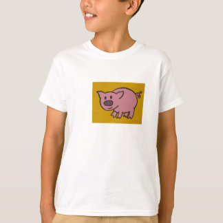 Schwein scherzt T - Shirt