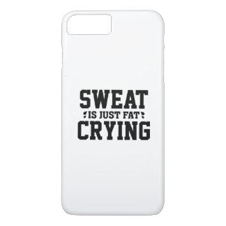 Schweiß ist fettes gerade schreien iPhone 8 plus/7 plus hülle