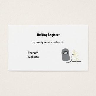 Schweißens-Dienstleistungen Visitenkarte
