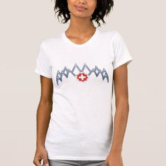 Schweizer die Alpen-T - Shirt der Frauen