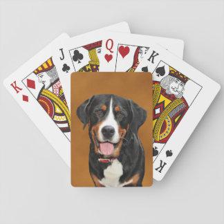 Schweizer Gebirgshund Spielkarten