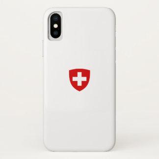 Schweizer Wappen - die Schweiz-Andenken iPhone X Hülle